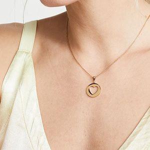 ♡ Heart mini pendant necklace